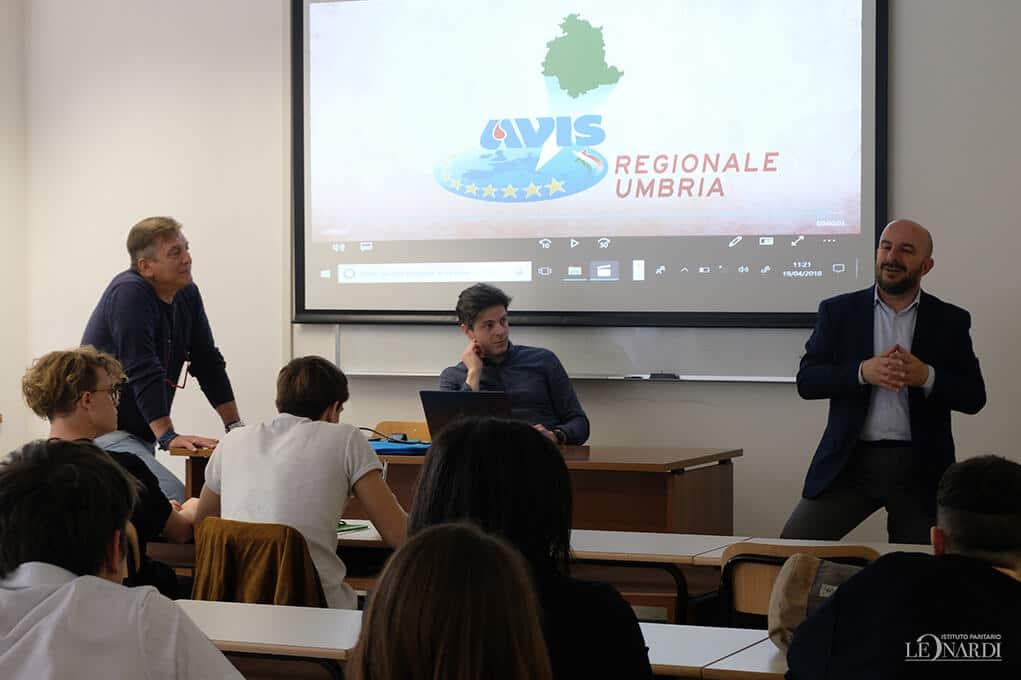 Incontro con l'AVIS comunale di Perugia