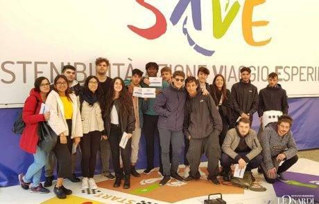 Gli allievi dell'Istituto Paritario Leonardi e il Progetto SAVE